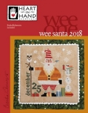 Wee One ~ Santa 2018 from Heart in Hand Needleart