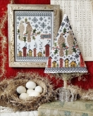 Second Day of Christmas Sampler & Tree ~ Cross Stitch from Hello from Liz