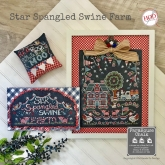 Star Spangled Swine Farm ~ FarmHouse Chalk series from Hands on Design