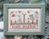Flock Together ~  Chart #4 ~ To The Beach Series from Hands on Design