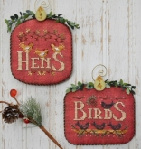 Hens & Birds ~ #2 of 12 Days Ornament Series from Hands on Design