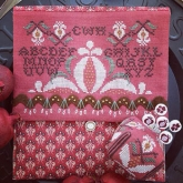 Pomegranate Pocket & Pincushion Market Exclusive from Hands on Design