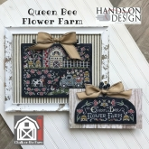 Queen Bee Flower Farm ~ Chalk on the Farm series from Hands on Design