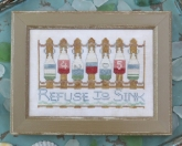 Refuse to Sink ~ Chart #10 ~ To The Beach Series from Hands on Design