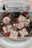 Festive Little Fobs ~ Valentine Edition from Heartstring Samplery