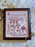 Carmella's Red Sampler from Hands to Work