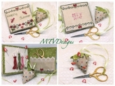 Happy Summer Sewing Set from MTV Designs ~ 1 only!