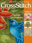 Just CrossStitch Magazine March / April 2016 ~ 4 only ~ Save 25%!