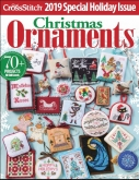 Just CrossStitch Christmas Ornaments Magazine 2019