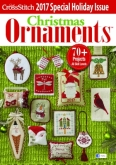 Just CrossStitch Christmas Ornaments Magazine 2017