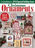 Just CrossStitch Christmas Ornaments Magazine 2018