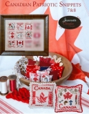 Canadian Patriotic Snippets Parts 7 & 8 from Jeannette Douglas Designs