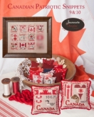 Canadian Patriotic Snippets ~ Pincushion or Sampler Series from Jeannette Douglas Designs