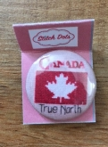 Canadian Patriotic Snippet #11 Needle Nanny/Stitch Dot ~ Jeannette Douglas Designs ~ Zappy Dots