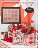 Canadian Patriotic Snippets Parts 1 & 2 from Jeannette Douglas Designs