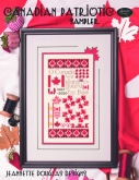 Canadian Patriotic Sampler from Jeannette Douglas Designs