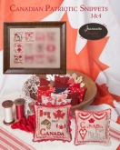 Canadian Patriotic Snippets Parts 3 & 4 from Jeannette Douglas Designs