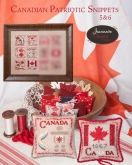 Canadian Patriotic Snippets Parts 5 & 6 from Jeannette Douglas Designs