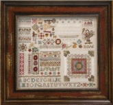 The Common Thread Sampler from Jeannette Douglas Designs