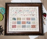 Learning Stitches Sampler Book from Jeannette Douglas Designs ~ Nashville 2019