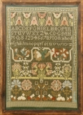 A Norwich Sampler by Joanne Harvey of The Examplarery