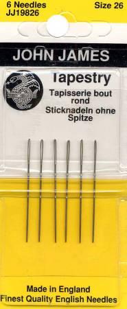 John James Tapestry Needles size 18//22-6 needles