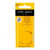Curved Beading Needles from John James