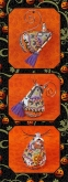 Witchy's Sister Mouse chart & embellishments ~ Limited Edition Ornament from Just Nan!