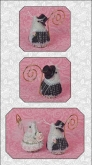 Romeo the Groom Mouse Limited Edition Ornament ~ Chart & embellishments from Just Nan