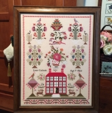 Miss Lucy Calcutt 1826 Little House from Just Stitching Along ~ Nashville 2019