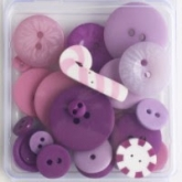 Sugarplum ~ Flavor Packs Hand Dyed Buttons from Just Another Button Co.