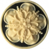 Tudor Rose Needle Minder from Kelmscott Designs