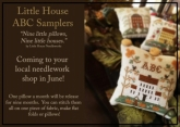 Little House ABC Samplers ~ Series from Little House Needleworks