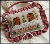 All is Calm ~ Ornament of the Month #11 ~ Little House Needleworks ~ 1 only!