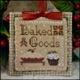 Baked Goods ~ Ornament #7 from Little House Needleworks