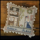 Betsy Ross ~ #1 in the Early Americans Series from Little House Needleworks