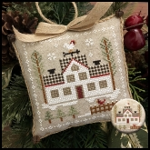 Cock-A-Doodle Doo ~ Chart #7 Farmhouse Christmas ~ Little House Needleworks