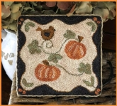 Country Pumpkins ~ Punch Needle design from Little House Needleworks