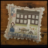 Molly Pitcher ~ #9 in the Early Americans Series from Little House Needleworks