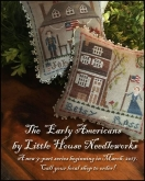 The Early Americans ~ a 9 Part Series from Little House Needleworks