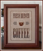 Fresh Brewed Coffee from Little House Needleworks