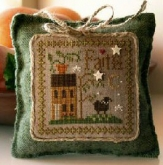 Faith ~ Little Sheep Virtues #5 from Little House Needleworks