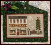 Bookstore ~ Chart #13 ~ Hometown Holiday series from Little House Needleworks