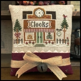 Clockmaker ~ Chart #17 ~ Hometown Holiday series from Little House Needleworks