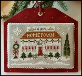 Diner ~ Chart #12 ~ Hometown Holiday series ~ Little House Needleworks