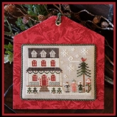 Grandma's House ~ Chart #14 ~ Hometown Holiday series from Little House Needleworks