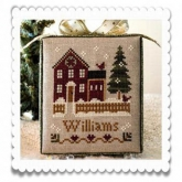 My House ~ Chart #1 ~ Hometown Holiday Series from Little House Needleworks