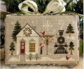 Main Street Station ~ Chart #2 ~ Hometown Holiday Series from Little House Needleworks