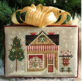 Sweet Shop ~ Chart #4 ~ Hometown Holiday Series from Little House Needleworks