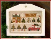 Tree Lot ~ Chart #10 ~ Hometown Holiday series ~ Little House Needleworks